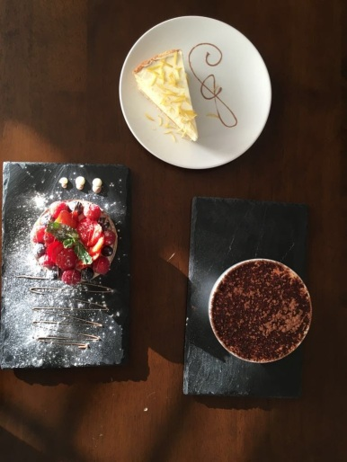 Range of Desserts